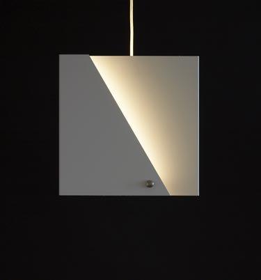 Eclipse Small Square Pendant